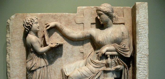 Die uralte griechische Skulptur zeigt-einen Laptop!?