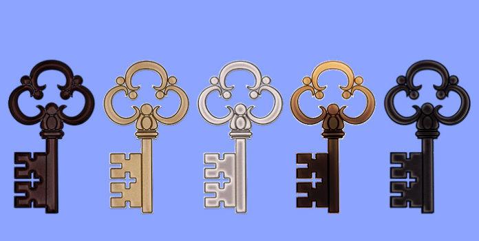 Der Schlüssel der Sie am meisten anspricht entdeckt Ihnen Ihre magische Macht!