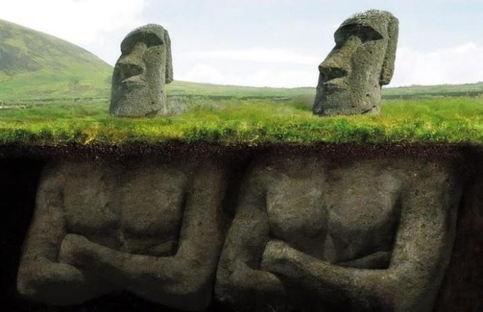Rätselhafte Osterinsel-Statuen: Neue archäologische Ausgrabungen enthüllen verblüffende Fakten