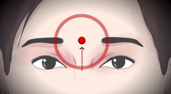 Yang Energie, im Gegensatz zu Yin, beginnt im Kopf und fließt nach unten zum Rest des Körpers.