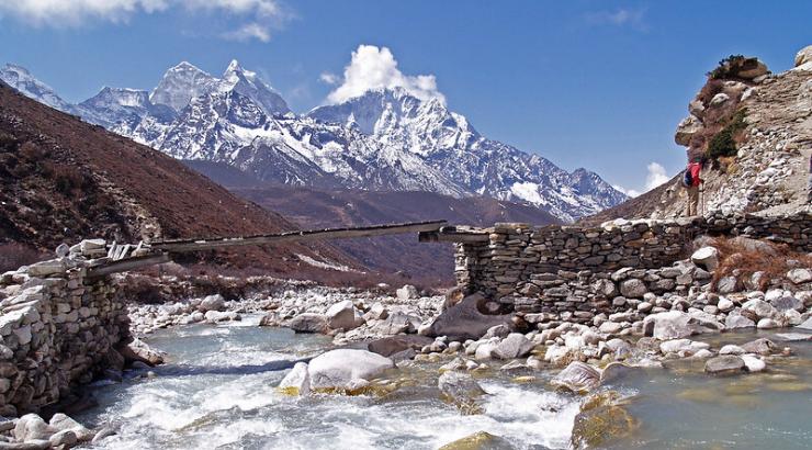 Himalaya zum ersten Mal seit 30 Jahren von Indien aus sichtbar, dank Corona-Quarantäne